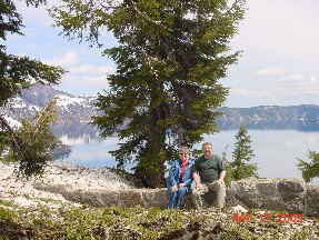 Denise and Jim at Crater Lake