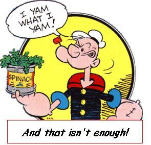 Popeye - I yam what I yam